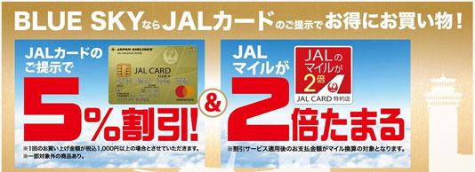 使ってお得!JAL普通カードの割引やサービスは?