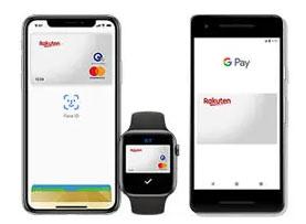 Apple Pay・Google Payに対応!